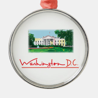 Washington DC - White House Christmas Ornament