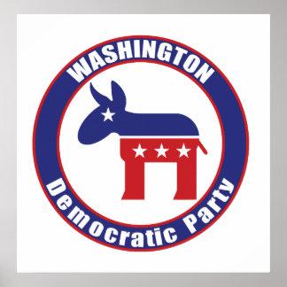 Washington Democratic Party Poster