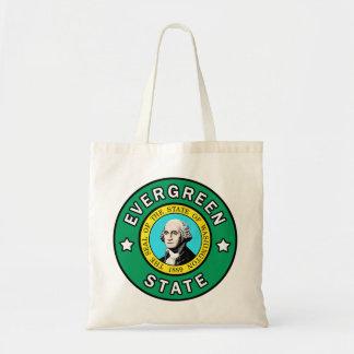 Washington Evergreen State tote bag