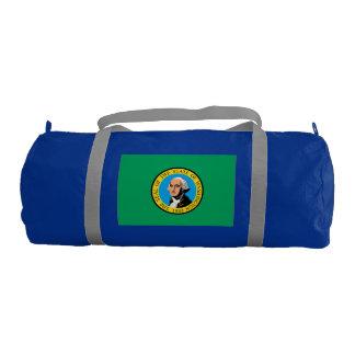 WASHINGTON Flag Gym Duffel Bag