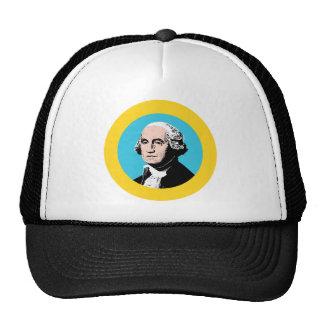 Washington Flag Theme 00 Trucker Hats