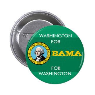 WASHINGTON FOR OBAMA Button