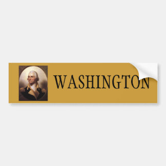 Washington for President Bumper Sticker