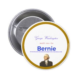 Washington for Sanders 6 Cm Round Badge