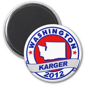Washington Fred Karger Fridge Magnets