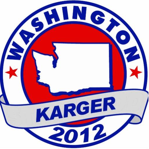 Washington Fred Karger Acrylic Cut Outs