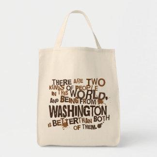 Washington (Funny) Gift Tote Bag