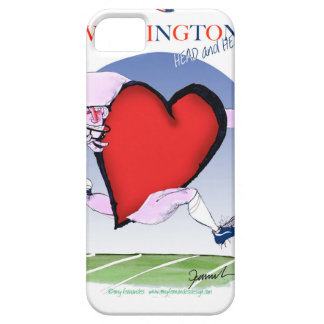 Washington head heart, tony fernandes iPhone 5 covers