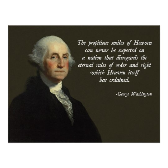 Washington Heaven Quote Poster