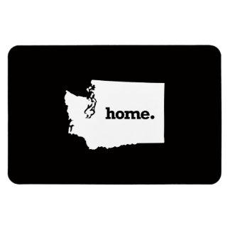 Washington Home Rectangular Photo Magnet