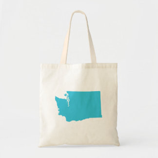 Washington in Blue Tote Bag