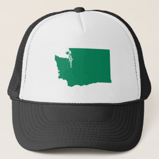 Washington in Green Trucker Hat