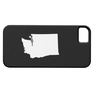 Washington in White and Black iPhone 5 Covers
