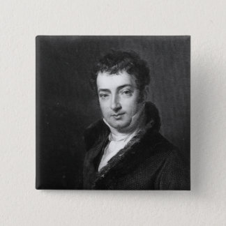 Washington Irving 15 Cm Square Badge