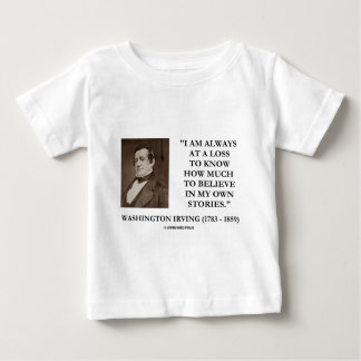 Washington Irving Always At A Loss Believe Stories Tees