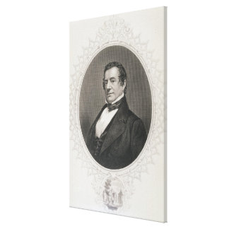Washington Irving Canvas Print