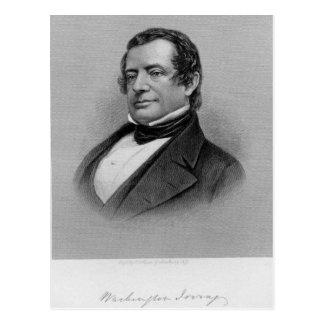 Washington Irving Portrait Postcard