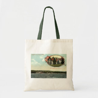 Washington Irving, Tarrytown, NY Vintage c1915 Tote Bag