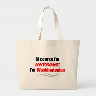 Washington Is Awesome Bags