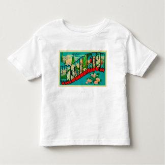 Washington - Large Letter Scenes Toddler T-Shirt