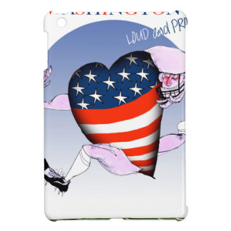 Washington loud and proud, tony fernandes iPad mini cover