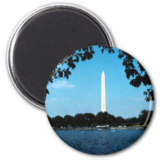 washington memorial,national capital washington dc magnet