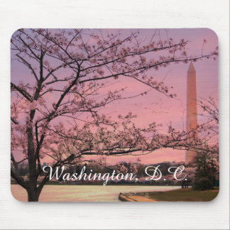 Washington Monument Cherry Blossom Festival Mouse Mat