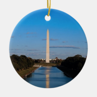 Washington Monument Christmas Ornament