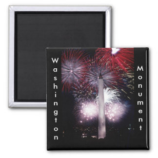 Washington Monument Fireworks Magnet
