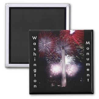 Washington Monument Fireworks Magnet