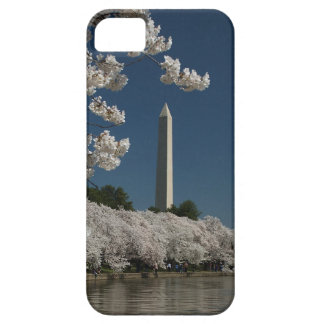 Washington Monument in Cherry Blossoms Case For The iPhone 5