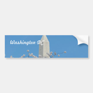 Washington Monument in Spring Bumper Sticker