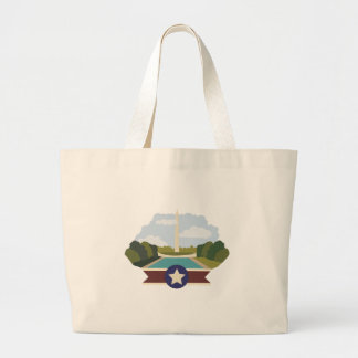 Washington Monument Jumbo Tote Bag