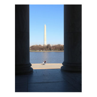 Washington Monument Postcard
