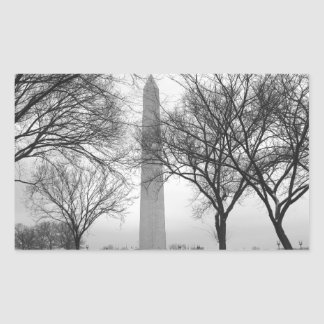 Washington Monument Rectangular Sticker