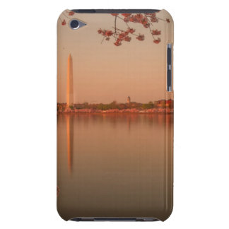 Washington Monument Sakura at sunset. Barely There iPod Cases