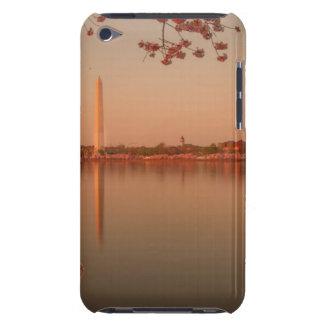 Washington Monument Sakura at sunset. Barely There iPod Cases