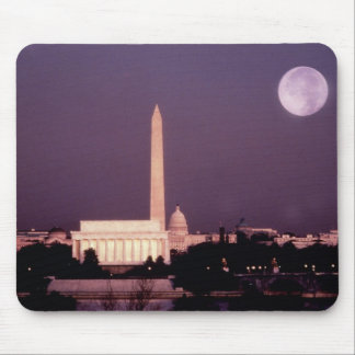 Washington Monument, the Capitol and Jefferson Mouse Pad