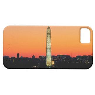 Washington Monument Under Restoration at Sunset iPhone 5 Cases
