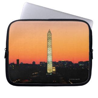 Washington Monument Under Restoration at Sunset Laptop Sleeve