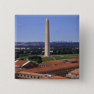 Washington Monument, Washington DC 15 Cm Square Badge