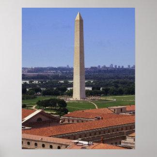 Washington Monument, Washington DC Poster
