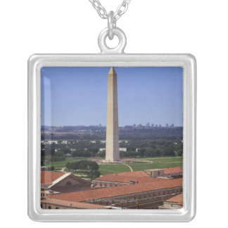 Washington Monument, Washington DC Silver Plated Necklace