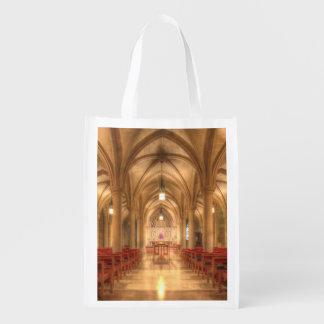 Washington National Cathedral Bethlehem Chapel Reusable Grocery Bag
