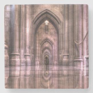 Washington National Cathedral Reflections Stone Coaster