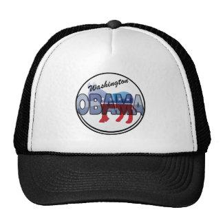Washington Obama Democrat Design Hat