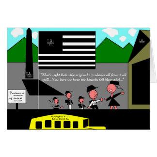 Washington Oil D.C. Greeting Card