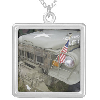 Washington, Olympia, military airshow. 2 Silver Plated Necklace
