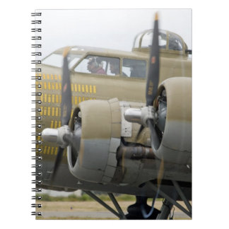 Washington, Olympia,  military airshow. 2 Spiral Note Books