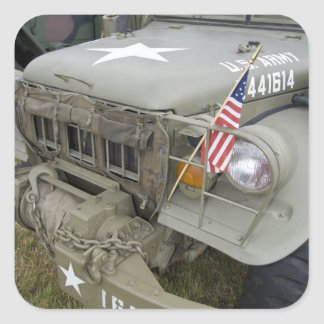 Washington, Olympia, military airshow. 2 Square Sticker